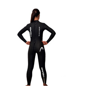 Head Black Marlin 4.3. 1,5 Tri Suit Ladies Black/Silver